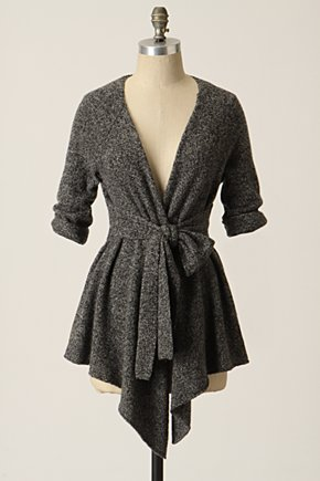 Graceful Point Cardigan  - Anthropologie.com :  winter clothing belted cardigan cardigan sweater stylish cardigan