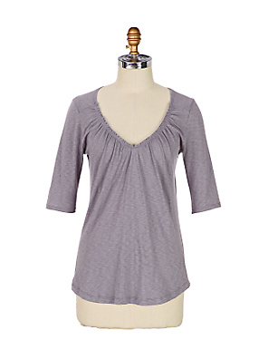Un-Tucked Scoopneck - Anthropologie.com