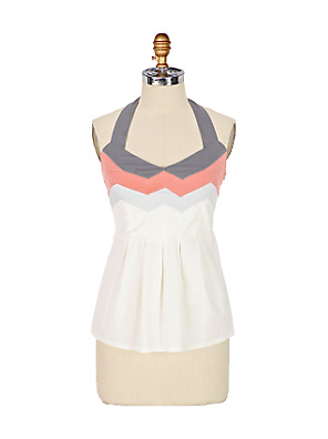 Buzios Halter - Anthropologie.com :  tops spring spandex zipper