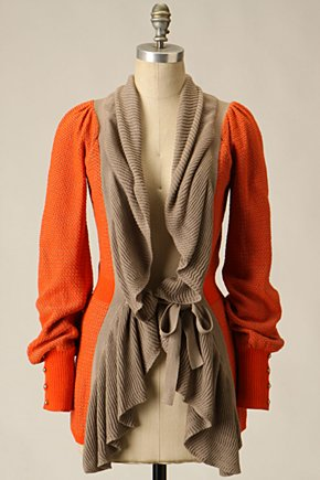 Ruffled Firelight Cardigan - Anthropologie.com from anthropologie.com