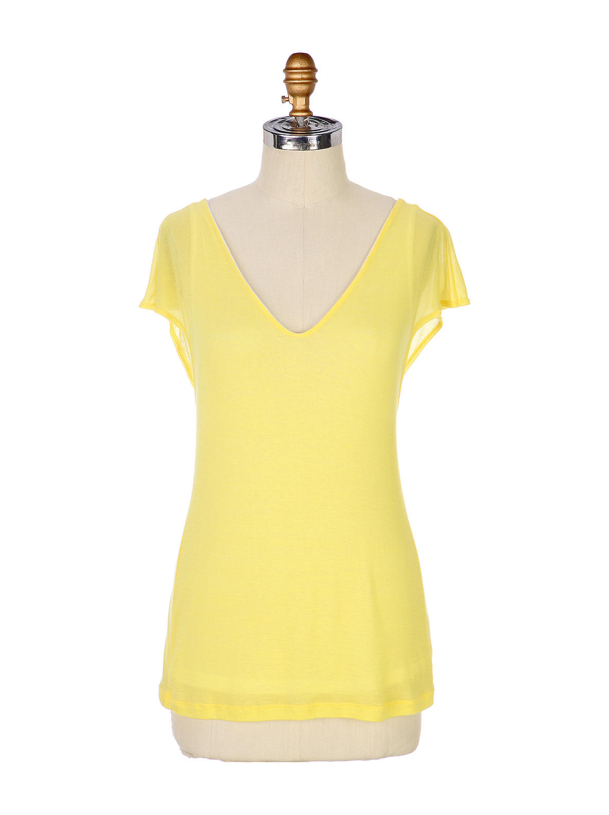 Sunny Glow Tee - Anthropologie.com :  tencel cap sleeves anthropologie lined