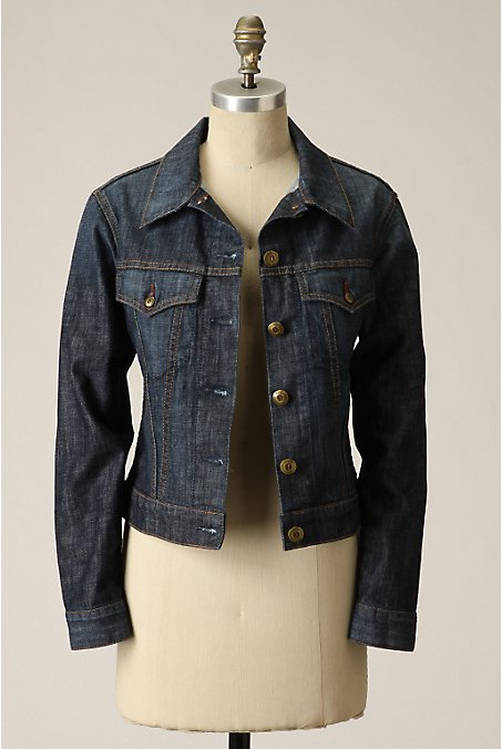 Timeless Denim Jacket :  jacket denim jacket jean jacket anthropologie