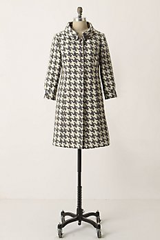 Greybar Coat - Anthropologie.com :  coat houndstooth tabitha