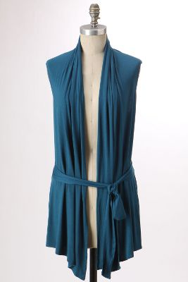 Torrent Vest - Anthropologie.com :  drape drapey cardigan anthropologie