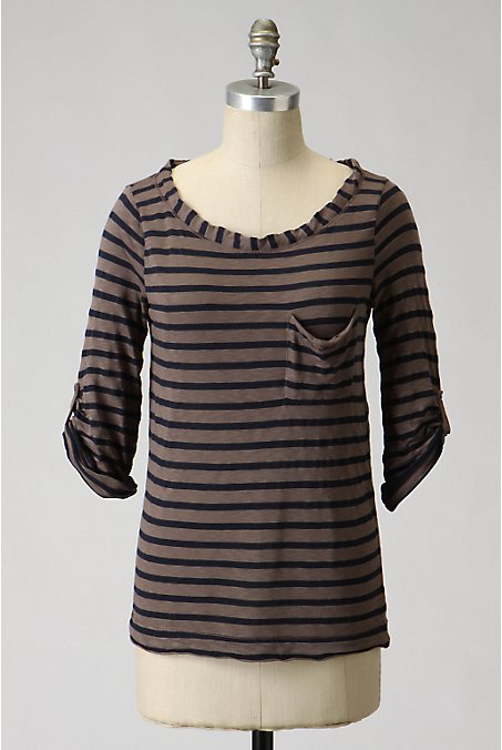 Deckside Scoopneck - Anthropologie.com :  striped anthropologie splendid french