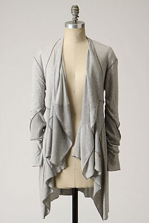 Angles & Angles Cardigan by Tiny :  jersey cotton bamboo asymmetrical