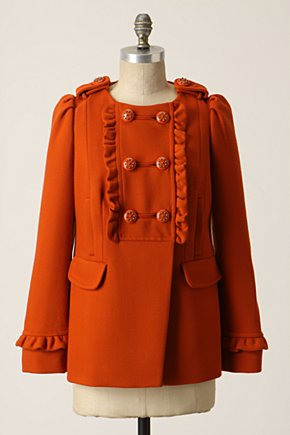Sunlit Grove Coat - Anthropologie.com :  coat