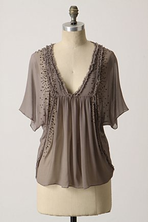 Sprinkled Chiffon Top - Anthropologie.com :  stylish top womens top sexy top