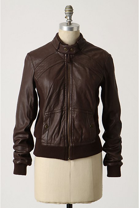 Cozy Motocross Jacket - Anthropologie.com :  jacket sweater leather jacket anthropologie