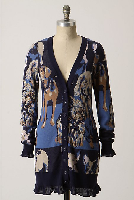 Doggedly Devoted Cardigan - Anthropologie.com from anthropologie.com
