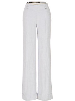Carpathia Sky Wide-Legs - Anthropologie.com :  high waist herringbone anthropologie retro