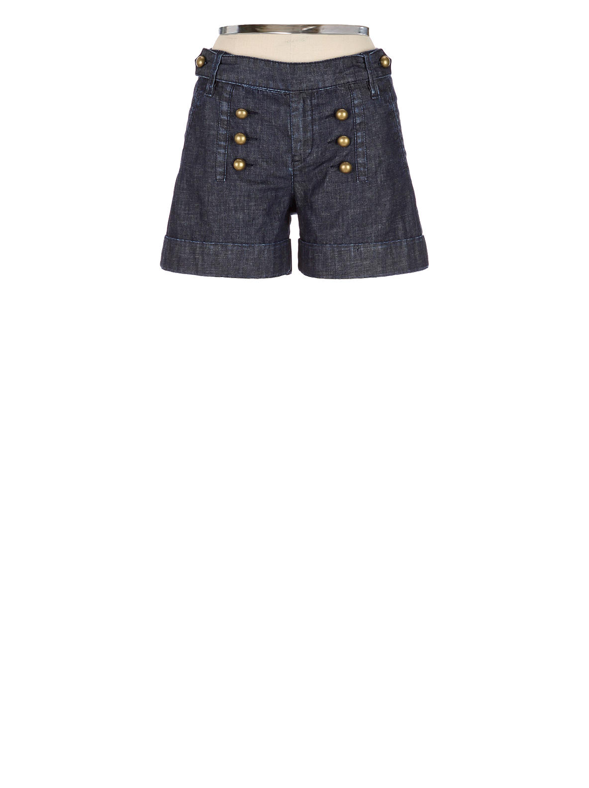 Steadfast Sailor Shorts - Anthropologie.com :  daughters of the liberation dark denim anthropologie