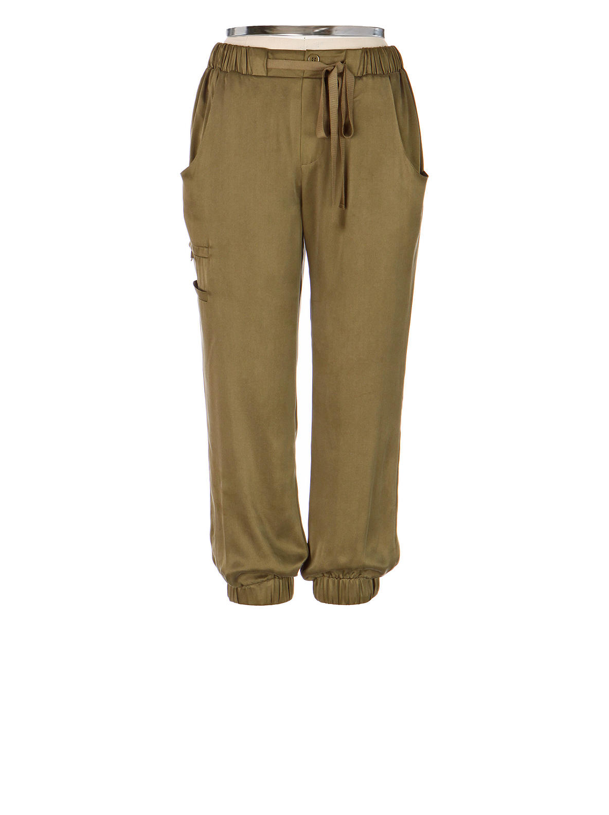 Wispy Cargo Pants - Anthropologie.com :  cropped silk poleci cargo pants