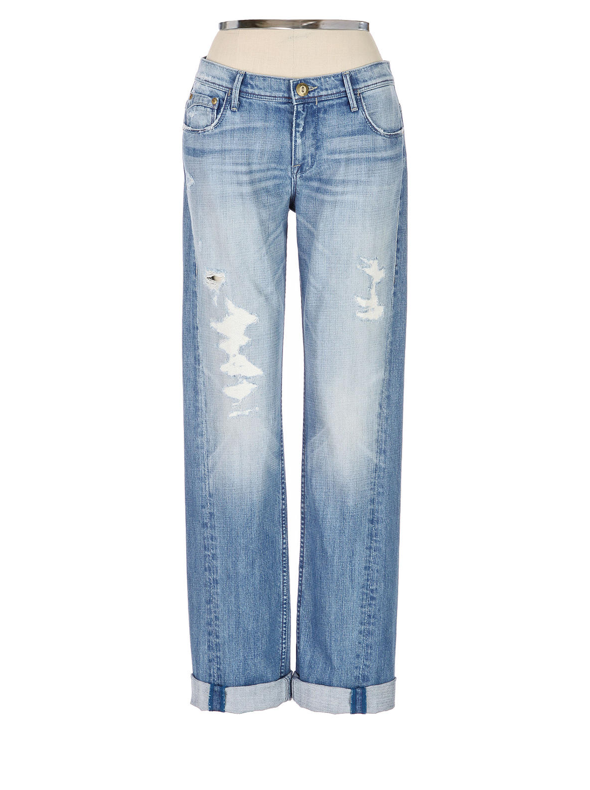 Level 99 Joplin Distressed Denim  - Anthropologie.com :  jeans jean level 99 denim