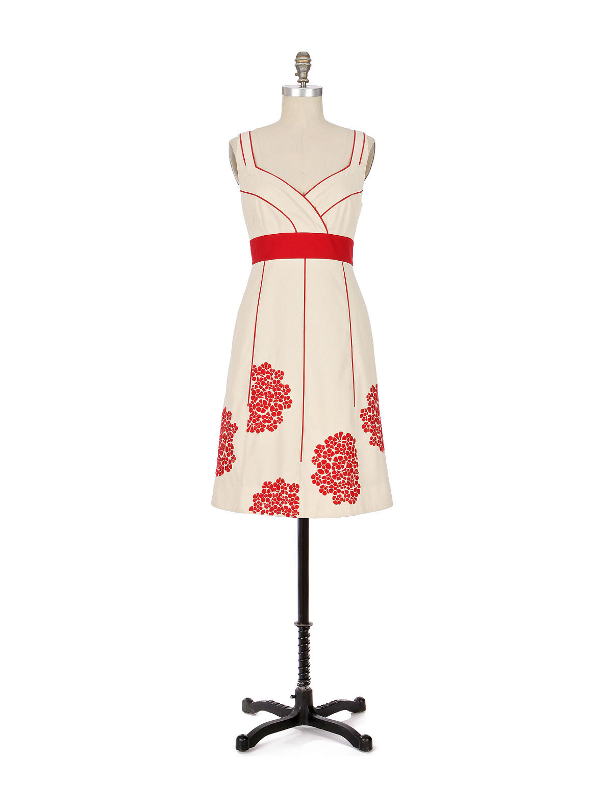 Coral Way Dress - Anthropologie.com :  floral anthropologie coral lined
