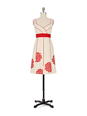 Coral Way Dress-Anthropologie.com from anthropologie.com
