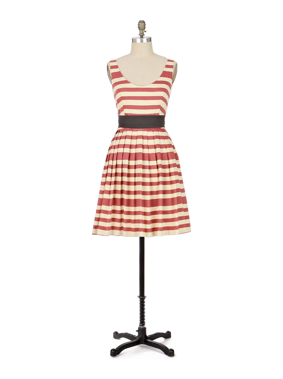 Corey Lynn Calter - Caranday Dress - Anthropologie.com :  caranday dress stripes corey lynn calter white