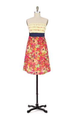 Blissful Days Dress - Anthropologie.com :  frock yellow gauze voile