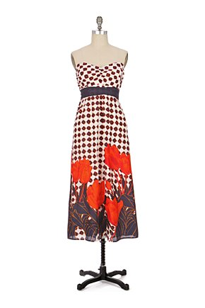 Tulip Fields Dress - Anthropologie.com :  tulip floral frock cotton