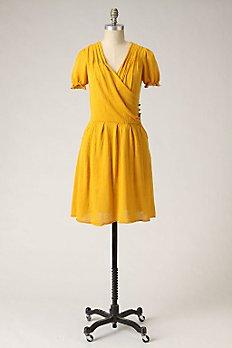 Sideswept Sweater Dress