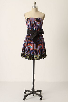 Granted Wishes Dress - Anthropologie.com :  frock bubble hem sash strapless
