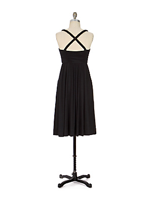 C. Keer - Last Dance Dress - Anthropologie.com :  criss cross straps womens asymmetrical flare