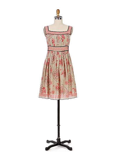 Butterfly Rose Garden Dress