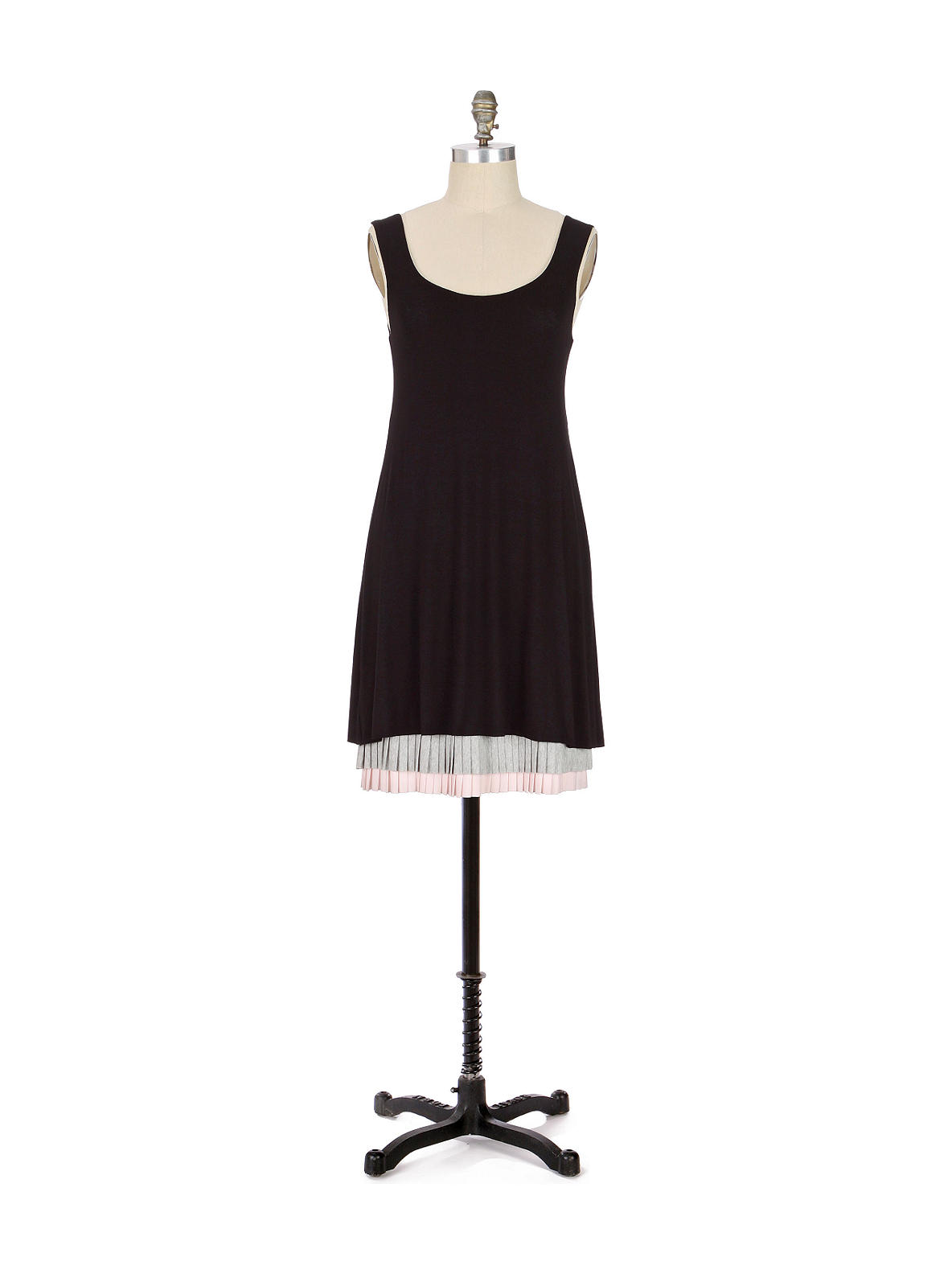 Bailey 44 - Neo-Neapolitan Dress - Anthropologie.com :  pink heather grey womens pleats