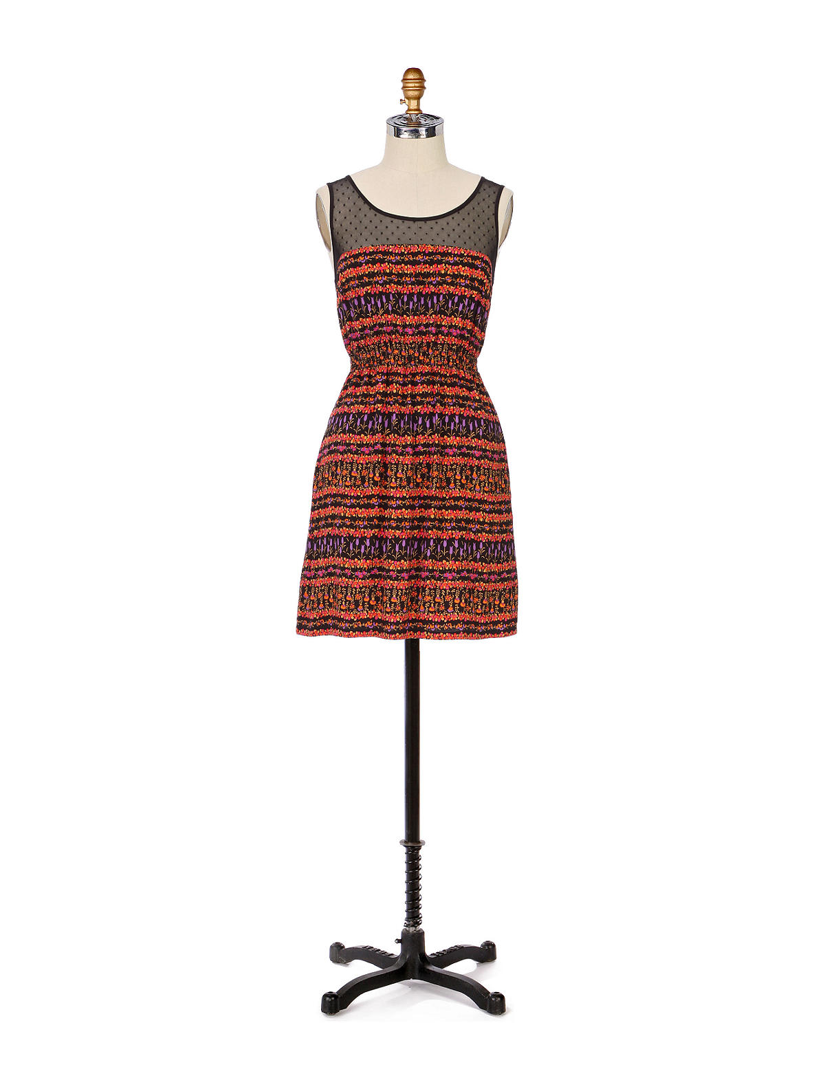 Maeve - Peppercorn Dress - Anthropologie.com :  spring elastic summer brown