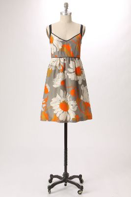 Grand Gazania Dress - Anthropologie.com :  floral moulinette soeurs silk clothing