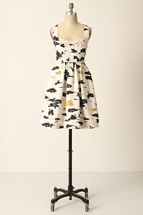 Flight-Of-Swans Dress - Anthropologie.com from anthropologie.com