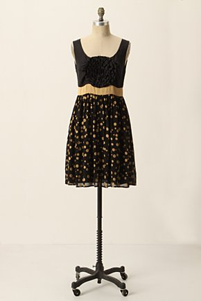 Grand Cru Dress - Anthropologie.com :  frock polka dot silk blend rosette