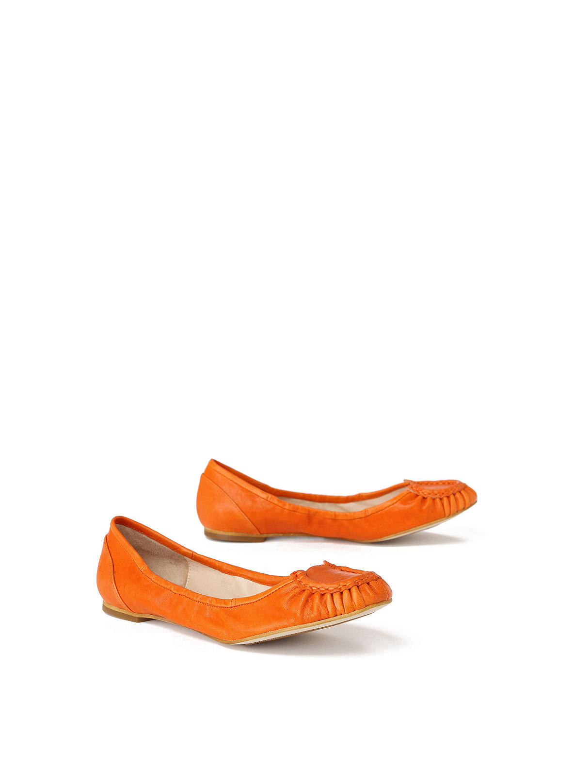 Lucky Horseshoe Flats - Anthropologie.com :  puckered flats gathered shoes
