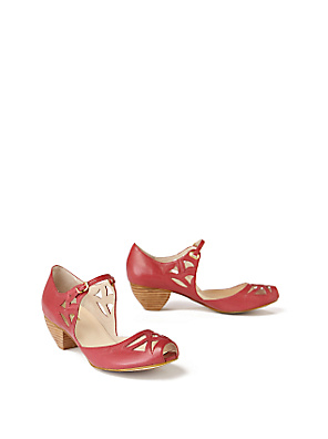 Framboise Peep-Toes - Anthropologie.com :  framboise buckle anthropologie retro
