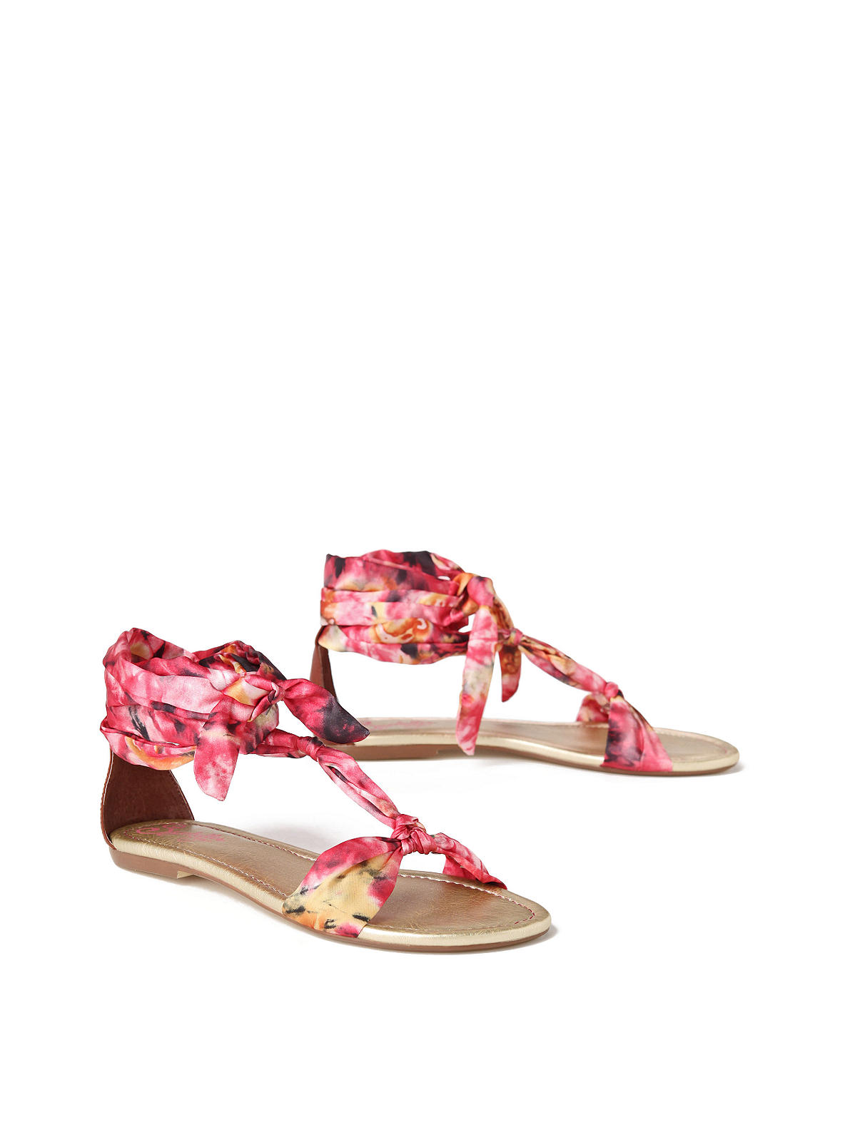 Tied & Dyed Sandals - Anthropologie.com :  tied dyed designer anthropologie flats