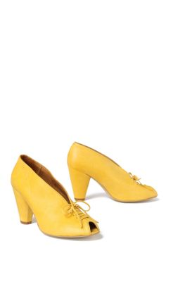 Sundrop Heels - Anthropologie.com :  midheel heels lace up shoes