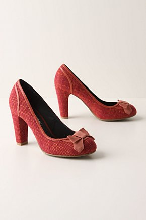 Blazing Tweed Pumps - Anthropologie.com