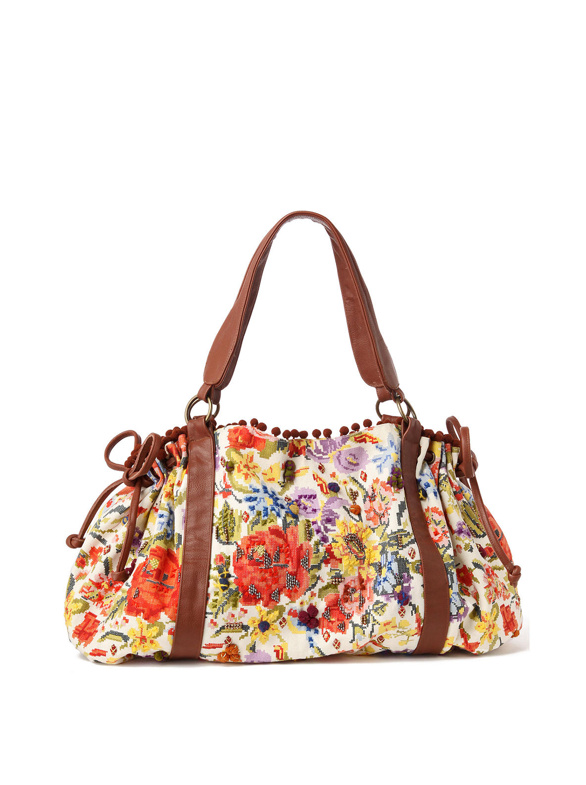 Nearly Needlepoint Satchel Anthropologie com from anthropologie.com