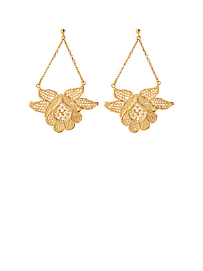 Swing Era Earrings - Anthropologie.com :  drop anthropologie buds jewelry