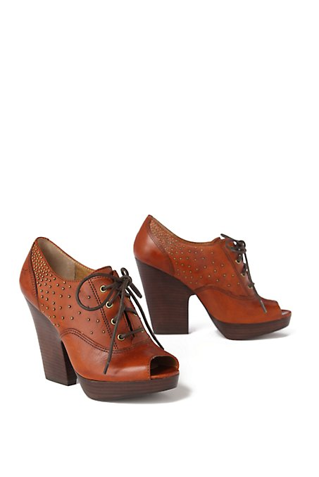 Stepping Out Oxfords - FRYE - Anthropologie.com :  platform heels lace up shoes