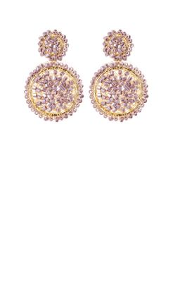 Crushed Lilac Earrings - Anthropologie.com :  anthropologie