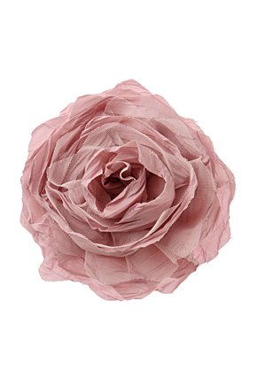 Full Bouquet Clip - Anthropologie.com :  flower coral crinkled grey