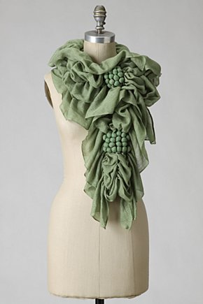 Grignolino Scarf - Anthropologie.com :  mint scarf anthropologie
