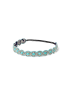Serpentine Shimmer Headband - Anthropologie.com from anthropologie.com