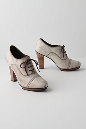 Winter White Oxfords - Anthropologie.com