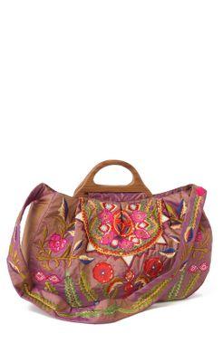 Oaxaca Rose Bag-Anthropologie.com