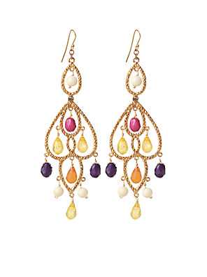 Paprika Path Earrings - Anthropologie.com