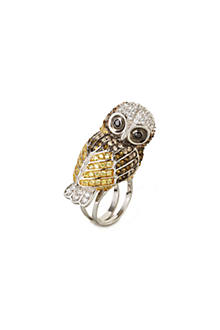 Owl's Evening Ring