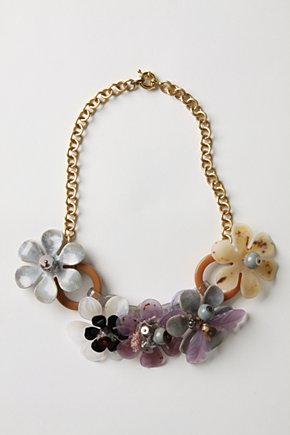 Smoky Petals Necklace - Anthropologie.com