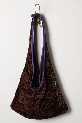 Willow Glen Reversible Hobo - Anthropologie.com :  hobo velvet viscose paisley